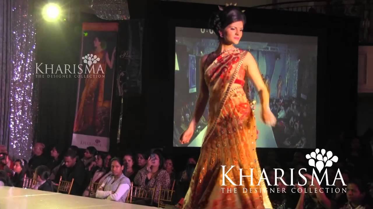 Kharishma Saree Fashion Show @ Jodi Bridal Show 2013 - YouTube