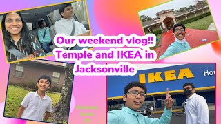 Weekend Vlog | Temple Visit and IKEA shopping |Travel Vlog | USA Telugu Vlogs |Telugu Vlogs from USA