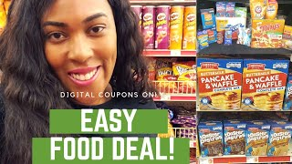 Family Dollar Easy $5/$25 Digital Coupon Food Deal!
