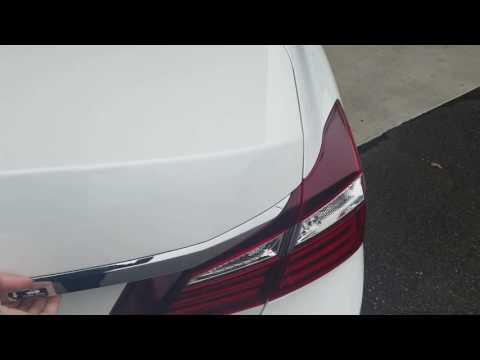 2017 Honda Accord EXL V6