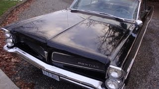 Driving a 1963 Pontiac Catalina 389 Tri Power 4 Speed