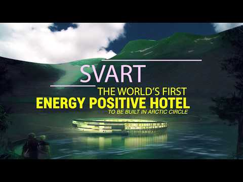 World's first energy positive hotel in the Arctic circle