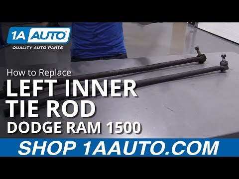 How to Replace Left Inner Tie Rod 94-02 Dodge Ram 1500