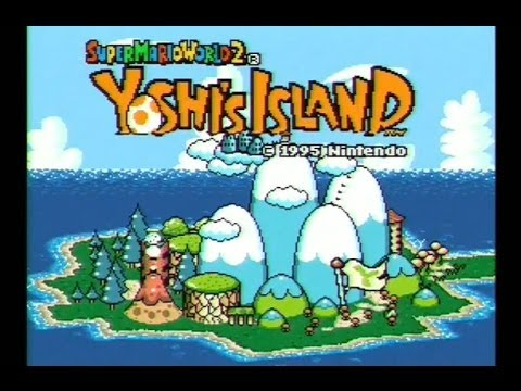 super-mario-world-2-yoshi's-island-snes-gameplay