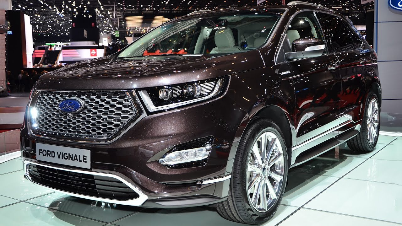 new ford edge vignale geneva motor show 2016 hq youtube. Black Bedroom Furniture Sets. Home Design Ideas