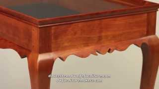 Tea Table Handmade By Doucette And Wolfe Furniture Makers