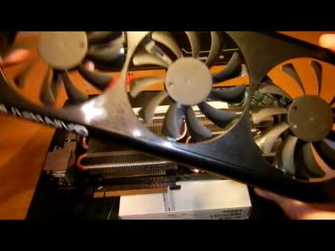 How to replace thermal compound on an Nvidia graphics card.