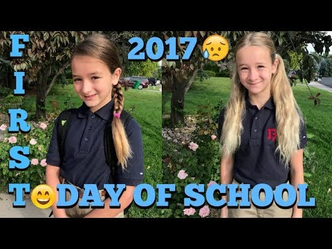 BACK TO SCHOOL ROUTINE: LATE FOR SCHOOL ON THE FIRST DAY?  EMOTIONAL FIRST DAY