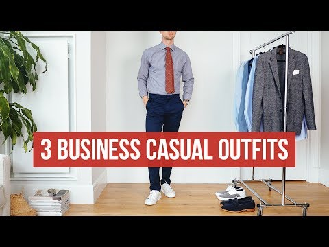 3 Business Casual Looks for Summer | Men's Fashion | Outfit Inspiration