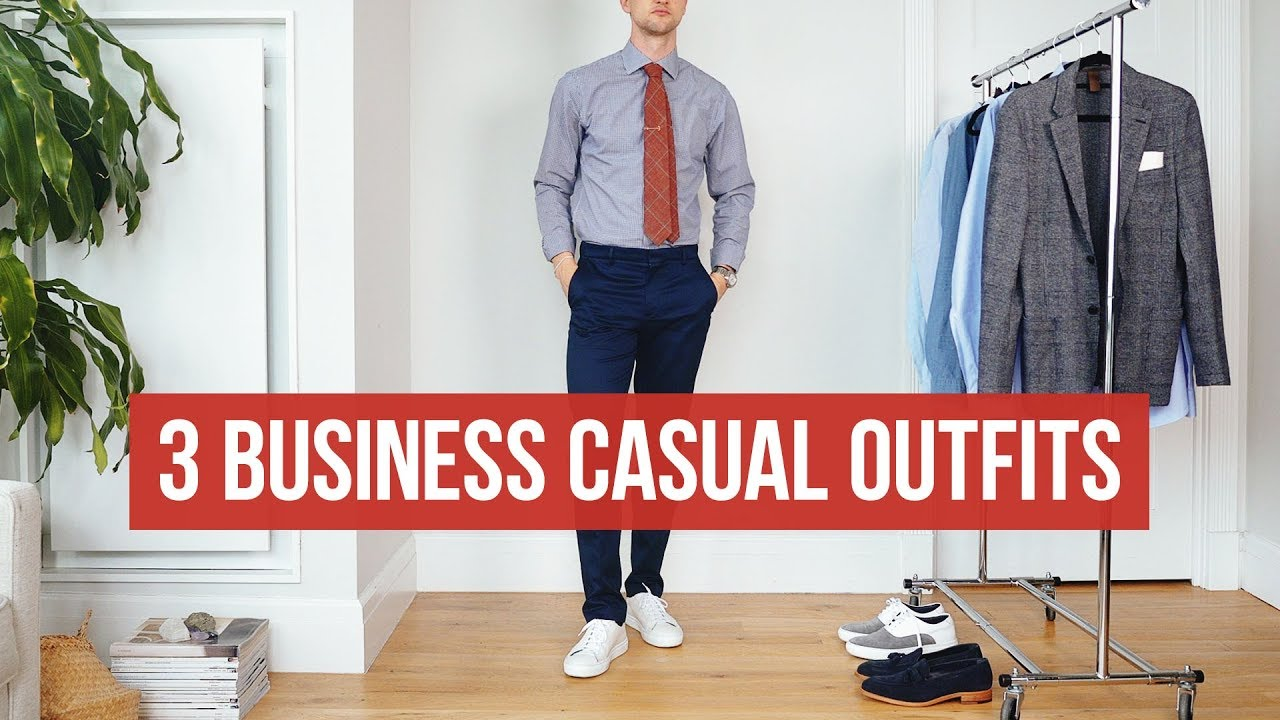 3 Business Casual Looks For Summer