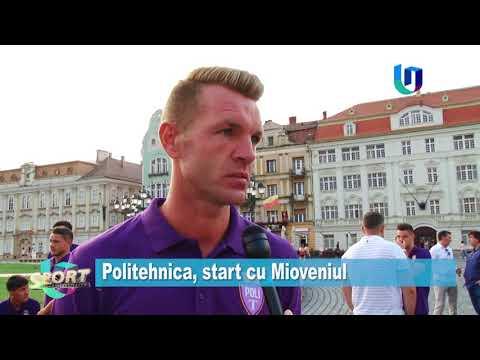 TeleU: Politehnica, start cu Mioveniul