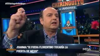 """Juanma Rodríguez: """"""""Si fuera Florentino tocaría la puerta de Messi"""""""