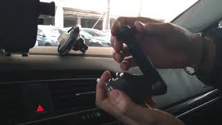 크랩슨 CTX S10 초고속무선충전 차량용 핸드폰 거치…