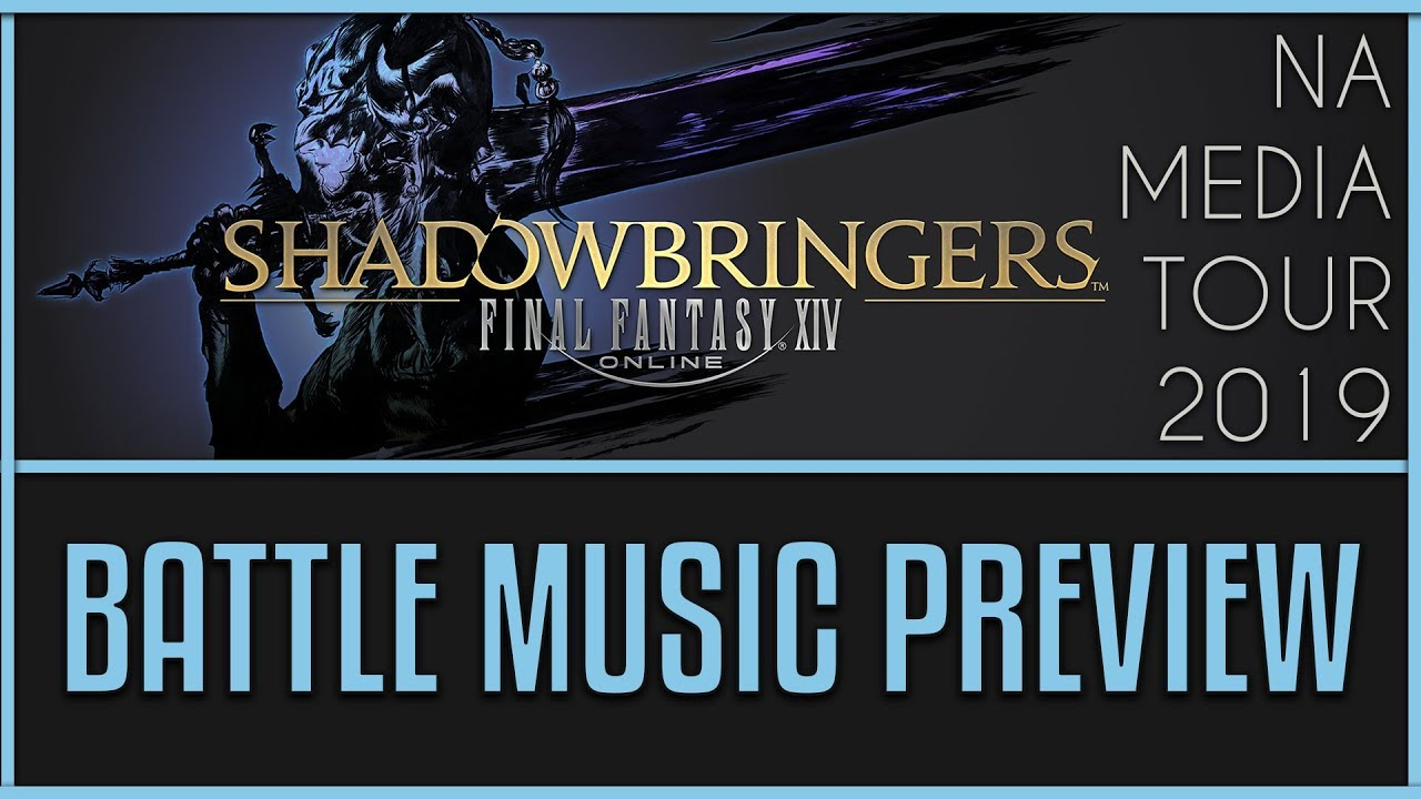 FFXIV: Shadowbringers - New Battle Music Preview