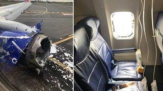 Muere una pasajera succionada por la ventanilla del avión
