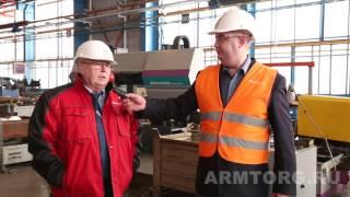 MSA. Репортаж с производства трубопроводной арматуры в Чехии.