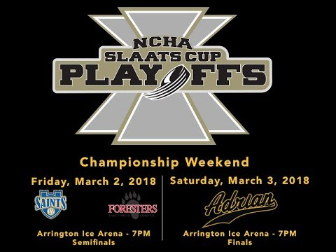 3/02/2018 NCHA Slaats Cup Semifinals: St. Scholastica vs. Lake Forest