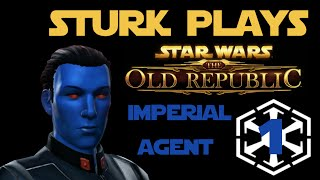 Sturk Plays Star Wars: The Old Republic - Episode 1 - Technically Episode 2