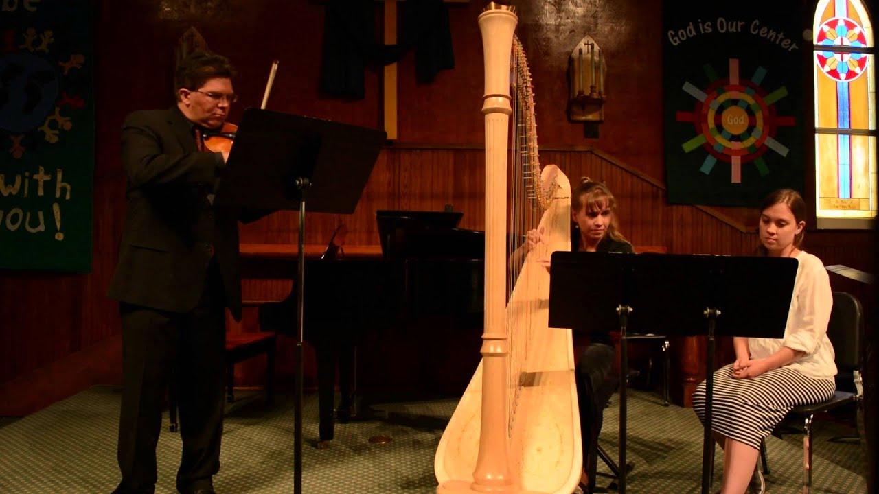 Contemporary Classical Music Violin And Harp Music Patricio Da Silva Youtube