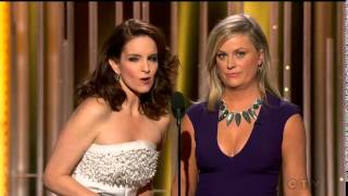 2015 Golden Globes Funny Host Tina Fey and Amy Poehler
