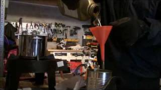 motor oil viscosity test cold and hot