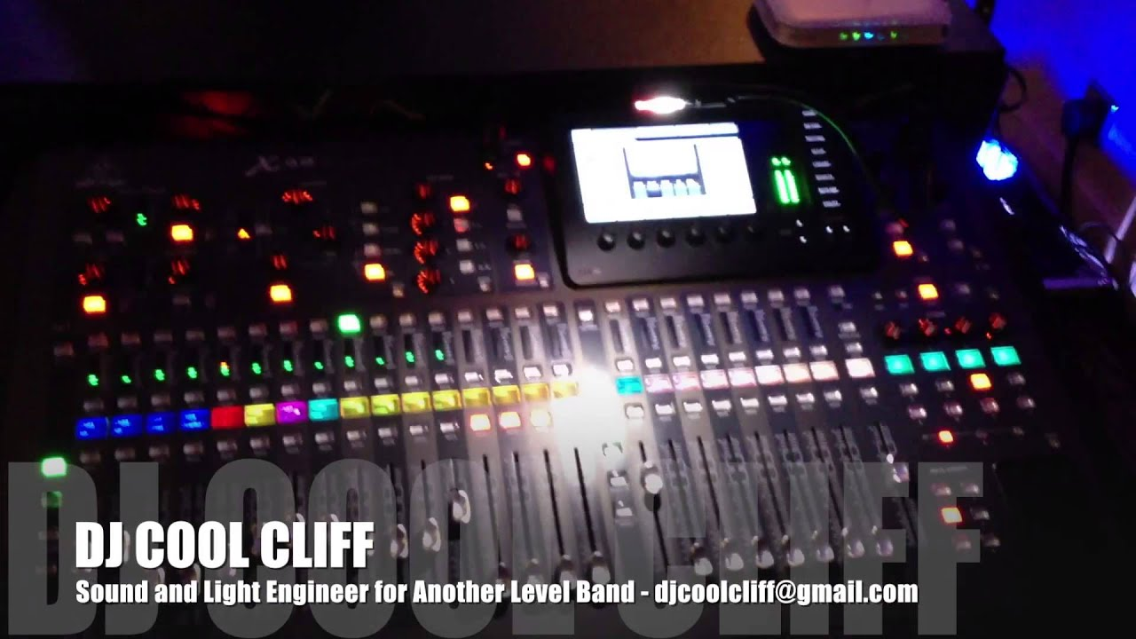 DJ COOL CLIFF Sound and Light engineer for Another Level Band RVA Mac and PC - YouTube & DJ COOL CLIFF Sound and Light engineer for Another Level Band RVA ...