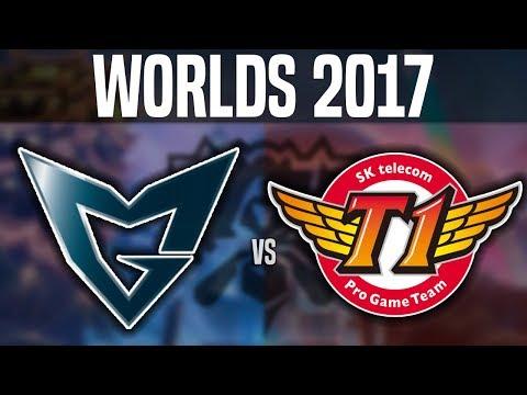 SSG vs SKT - Game 3 - Worlds 2017 Finals - Samsung Galaxy vs SK Telecom T1 G3 | Worlds 2017