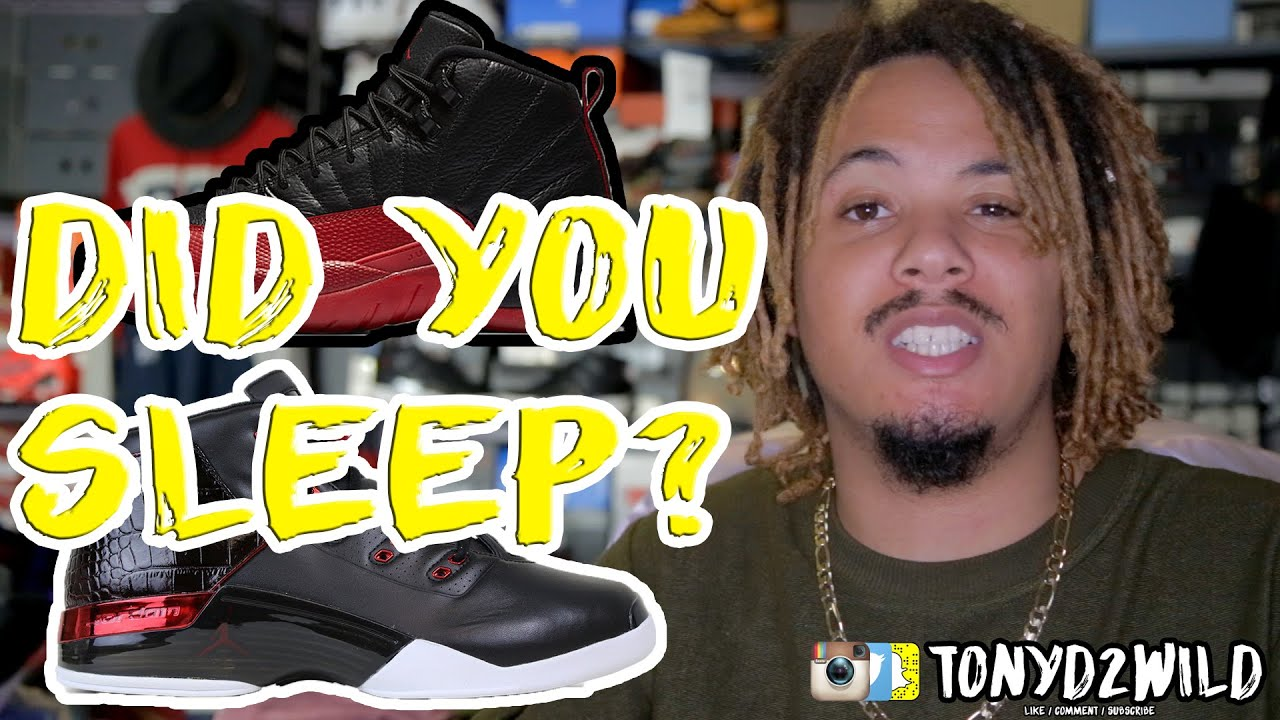 175ecdbef24f ... inexpensive jordan 12 flu game jordan 17 chicago did you sleep 25bc4  7ee3e
