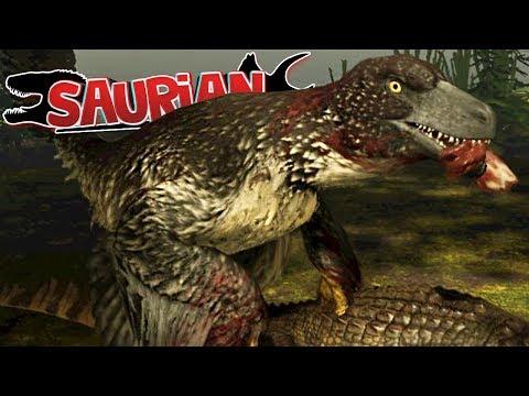 Saurian - Caçando Grandes Dinossauros, Dakotaraptor Adulto, Meu Território! | (#3) (PT-BR)