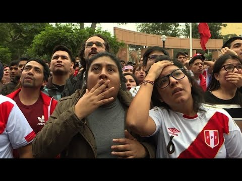Peru fans react after World Cup elimination