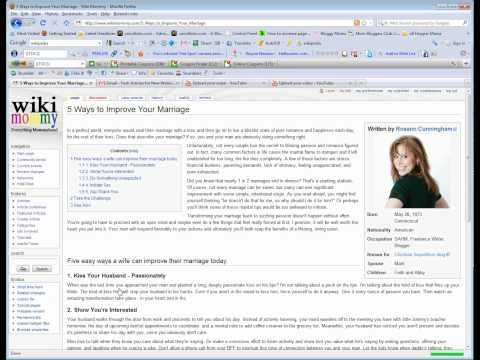How to Create a Wiki Article Part 3 - Creating Table of Cont