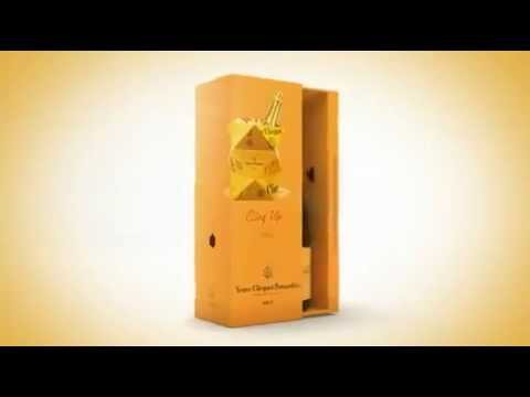 Champagne Veuve Clicquot Yellow Label - click image for video