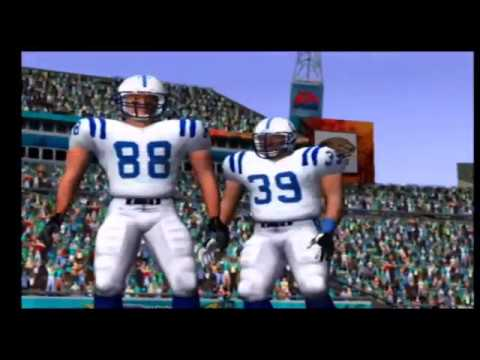 Madden NFL 2004 Colts vs Jaguars Part 2