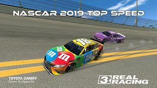Real Racing 3 NASCAR 2019 Top Speed Challenge RR3