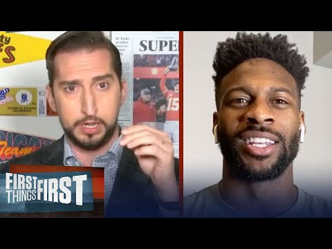 Emmanuel Sanders is ready to join Brees & Saints, talks Super Bowl LIV | NFL | FIRST THINGS FIRST