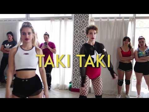 DJ Snake - Taki Taki Ft. Selena Gomez, Ozuna, Cardi B - Choreografia Por Paloma Pereyra