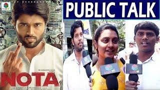 NOTA Movie Public Talk |Vijay Deverakonda | Mehreen Pirzada | Telugu 2018 New Movie Review |#SCubeTV