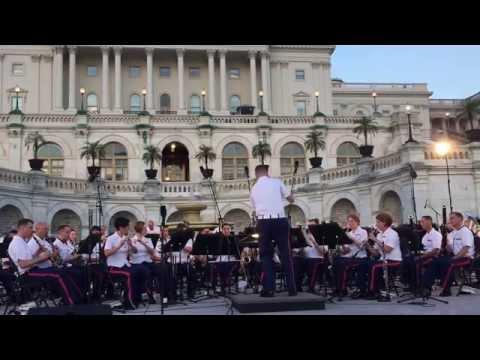 "7/22/15 ""Country Band March,"" Charles Ives, trans. John Sinclair, US Marine Band"