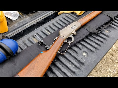Marlin 1893 30-30 With Montana Vintage Arms Tang Sight, Carry And Shoot Wyoming.
