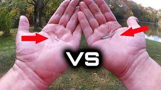 My Favorite Panfish Lures (Artificial Baits) Gulp Minnow vs Gulp Larva