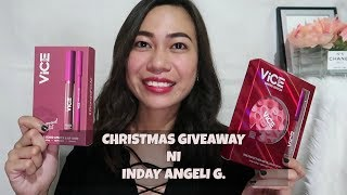 *CLOSED**CHRISTMAS GIVEAWAY NI INDAY ANGELI G.| VICE COSMETICS & KOREAN PRODUCTS