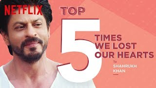 Top 5 Times We Lost Our Hearts to Shah Rukh Khan | Netflix