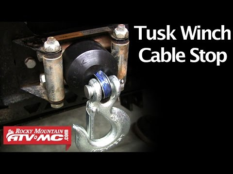 How To Replace A Winch Cable With Amsteel Synthetic Rop
