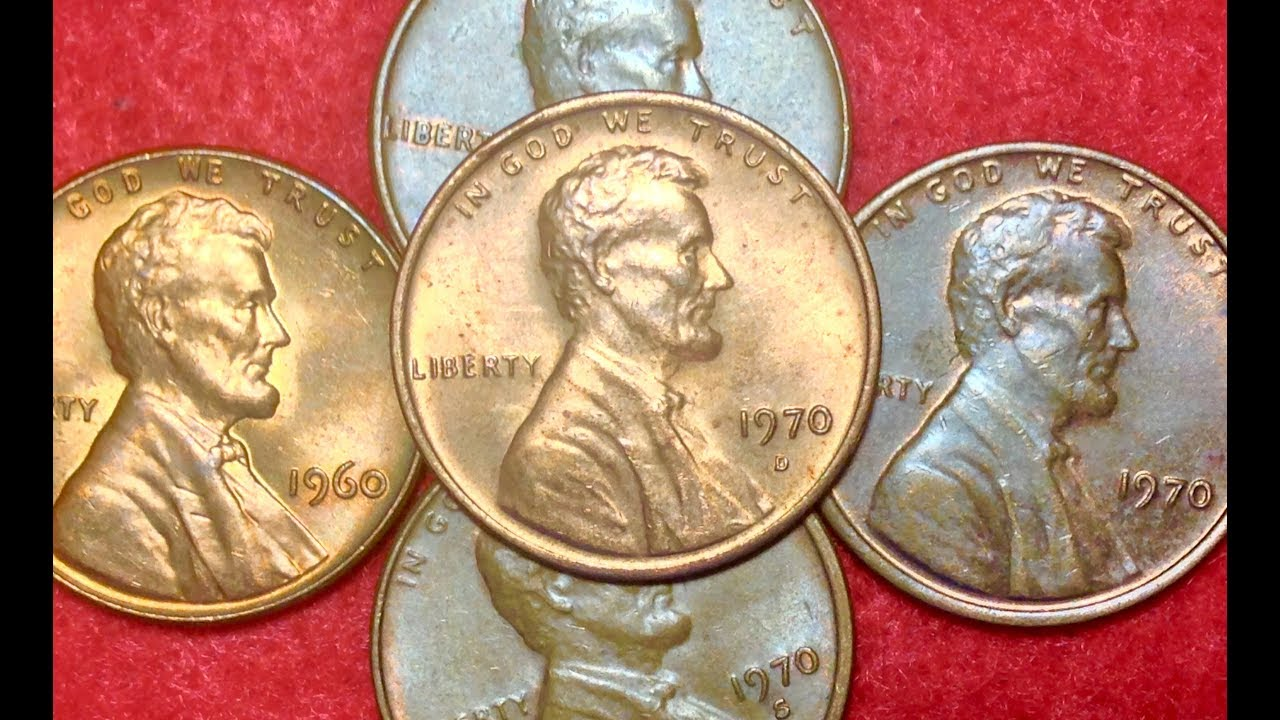 Small Date (1960 & 1970) Lincoln Cents - Variety To Look For