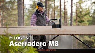 Aserradero M8   El Aserradero Portátil Sueco   LOGOSOL