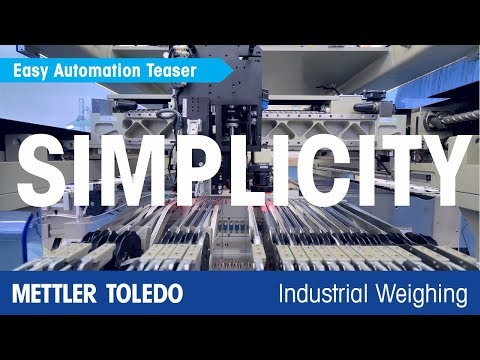 METTLER TOLEDO Fast And Simple Automation With Integrated Weighing Components - En