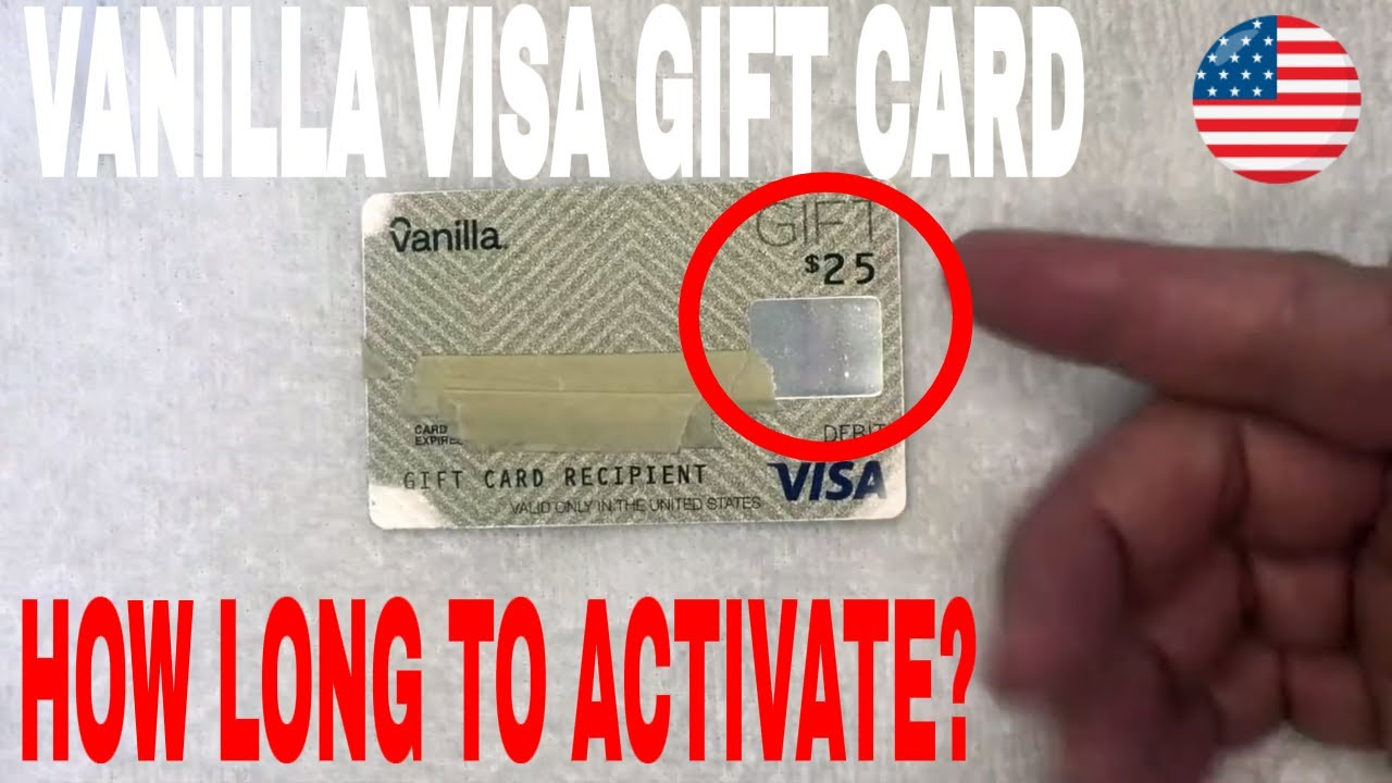 how do i activate my visa gift card? How Long Does It Take To Activate Vanilla Visa Debit Gift Card 🔴 - YouTube