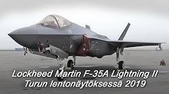 Turku Airshow: Lockheed Martin F-35A Lightning II
