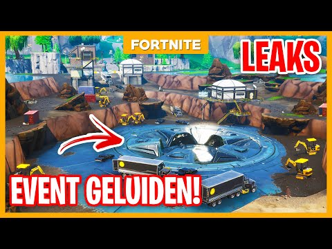 LIVE EVENT SEASON 8 GELUIDEN! + LOOT LAKE VERANDERD?! - Fortnite