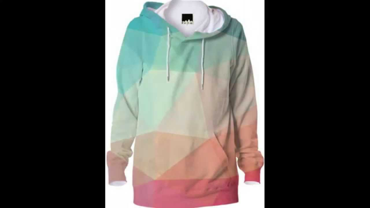 Cool Geometric Abstract Hoodies Modern Geometry Designs - YouTube
